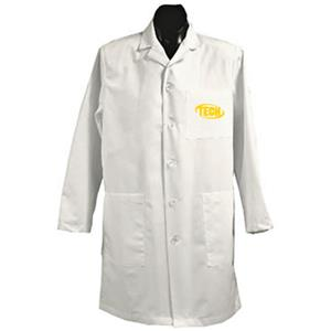 Arkansas Tech University White Long Labcoats