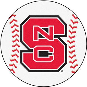 Fan Mats North Carolina State Baseball Mat