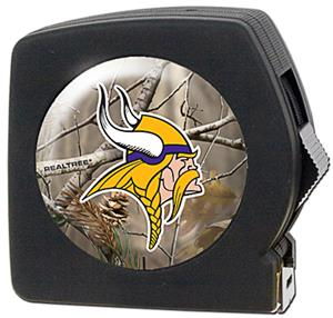 NFL Minnesota Vikings 25' RealTree Tape Measure