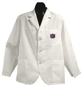 Auburn University White Short Labcoats