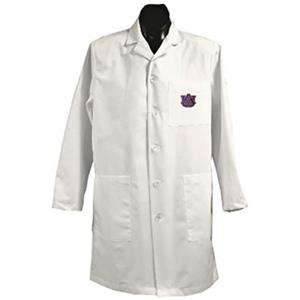 Auburn University White Long Labcoats