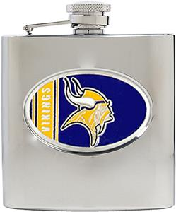 NFL Minnesota Vikings 6oz Stainless Steel Flask