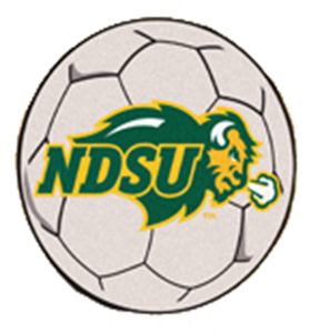 Fan Mats North Dakota State Univ. Soccer Ball