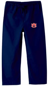 Auburn University Kid's Navy Scrub Pants