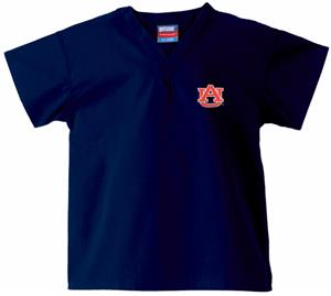 Auburn University Kid&#39;s Navy Scrub Tops