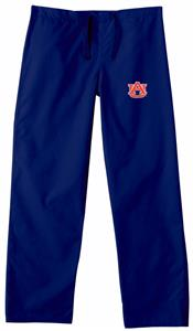Auburn University Navy Classic Scrub Pants