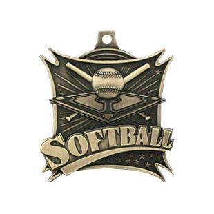 """Hasty Awards 2.5"""" Softball Xtreme Medals M-701"""