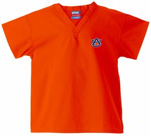 Auburn University Kid&#39;s Orange Scrub Tops