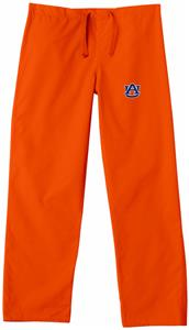 Auburn University Orange Classic Scrub Pants
