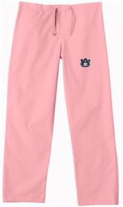Auburn University Pink Classic Scrub Pants