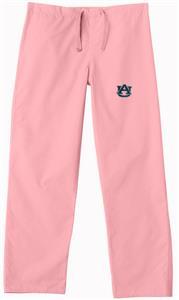 Auburn University Pink Classic Scrub Pants