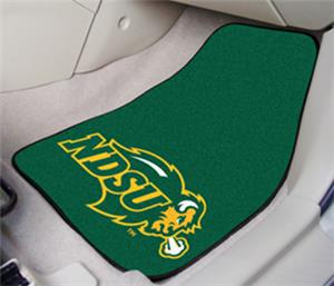 Fan Mats North Dakota State Univ. Carpet Car Mats