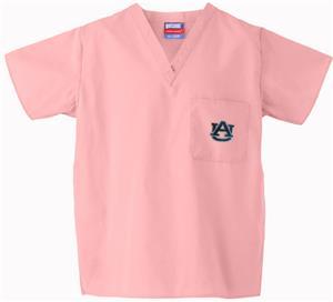 Auburn University Pink Classic Scrub Tops