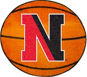 Fan Mats Northeastern University Basketball Mat