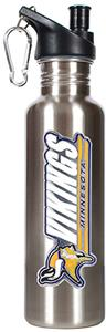 NFL Minnesota Vikings Stainless Steel Water Bottle