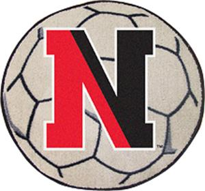 Fan Mats Northeastern University Soccer Ball