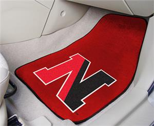 Fan Mats Northeastern University Carpet Car Mats
