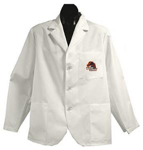 Boise State University White Short Labcoats