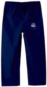Boise State University Kid's Navy Scrub Pants