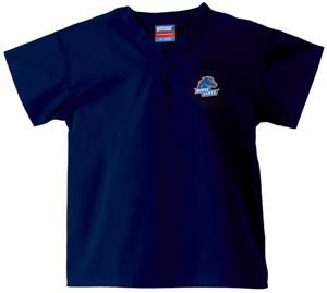 Boise State University Kid's Navy Scrub Tops