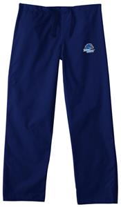 Boise State University Navy Classic Scrub Pants