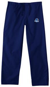Boise State University Navy Classic Scrub Pants