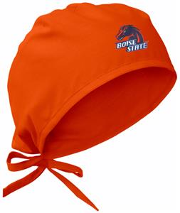 Boise State University Orange Surgical Caps