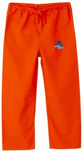 Boise State University Kid's Orange Scrub Pants
