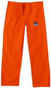 Boise State University Orange Classic Scrub Pants