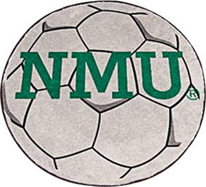 Fan Mats Northern Michigan Univ. Soccer Ball