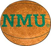 Fan Mats Northern Michigan Univ. Basketball Mat