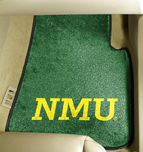 Fan Mats Northern Michigan Univ. Carpet Car Mats