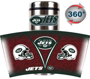 NFL New York Jets Tumbler (Logo & Team Name)