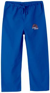 Boise State University Kid's Royal Scrub Pants