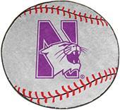 Fan Mats Northwestern University Baseball Mat
