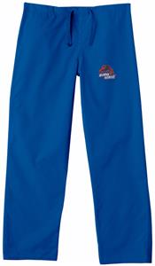 Boise State University Royal Classic Scrub Pants