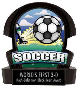 Resin Soccer Trophy Trophies