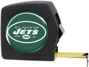 NFL New York Jets 25' Tape Measure with Logo