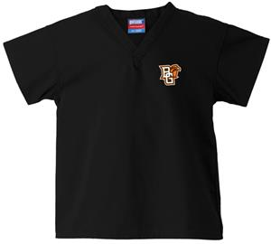 Bowling Green State Univ Kid's Black Scrub Tops