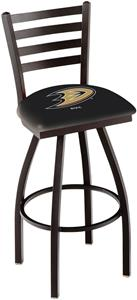 Holland NHL Anaheim Ducks Ladder Swivel Bar Stool