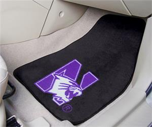 Fan Mats Northwestern University Carpet Car Mats