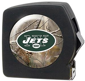 NFL New York Jets 25' RealTree Tape Measure