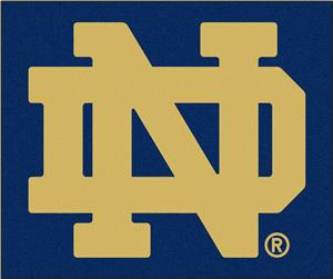 Fan Mats Notre Dame Starter Mat