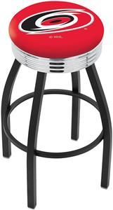 Carolina Hurricanes NHL Ribbed Ring Bar Stool