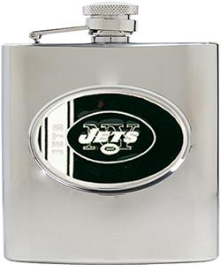 NFL New York Jets 6oz Stainless Steel Flask
