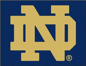 Fan Mats Notre Dame All Star Mat