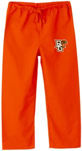 Bowling Green State Univ Kid's Orange Scrub Pants
