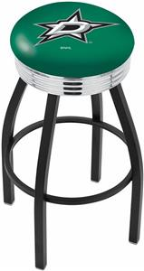 Dallas Stars NHL Ribbed Ring Bar Stool