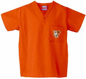 Bowling Green State Univ Orange Classic Scrub Tops