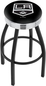 Los Angeles Kings NHL Ribbed Ring Bar Stool